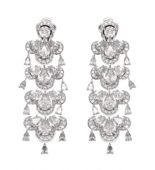 手绘首饰设计图耳环