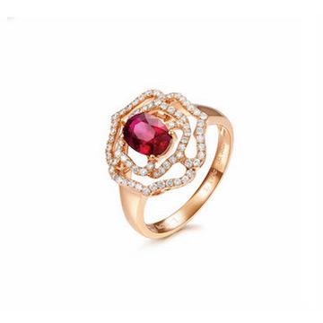同大福珠宝宝石戒指