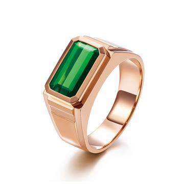 同大福珠宝绿宝石戒指