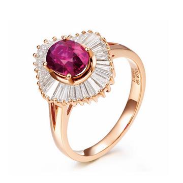 同大福珠宝时尚宝石戒指