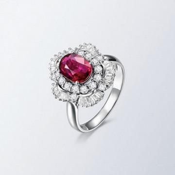 同大福珠宝时尚特色宝石戒指