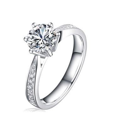 皇子福珠宝钻石戒指