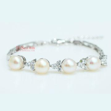 海韵S925银珍珠手链