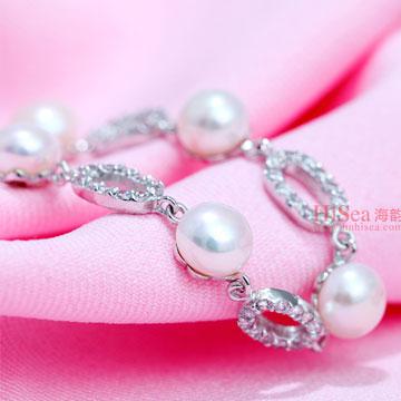海韵S925珍珠手链