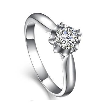 爱心华珠宝精美钻石女戒