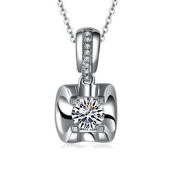爱心华珠宝时尚钻石吊坠
