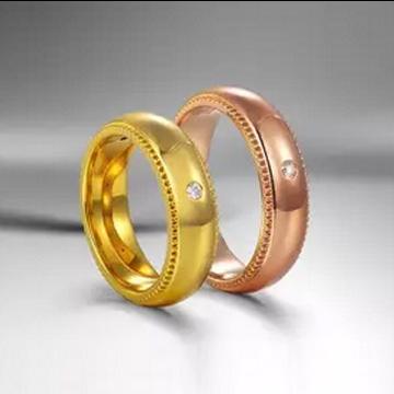 爱心华珠宝时尚情侣戒指