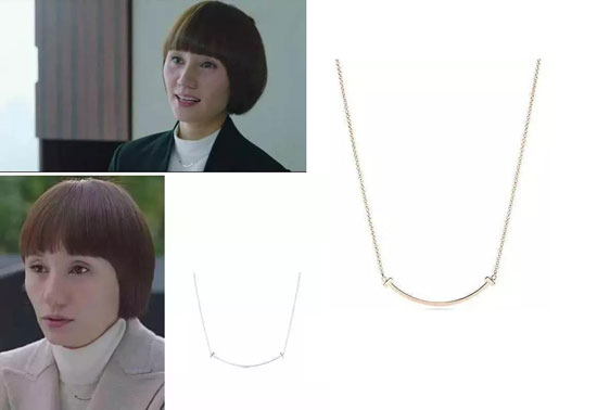 tiffany微笑项链