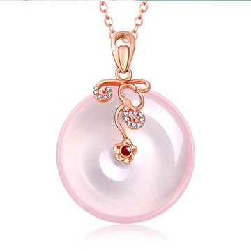 金大恒珠宝宝石镶嵌吊坠