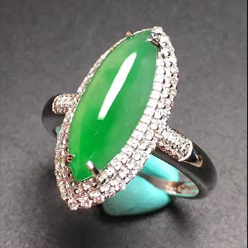 逸之璟新出满绿戒指