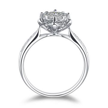 克拉达浪漫钻石女戒