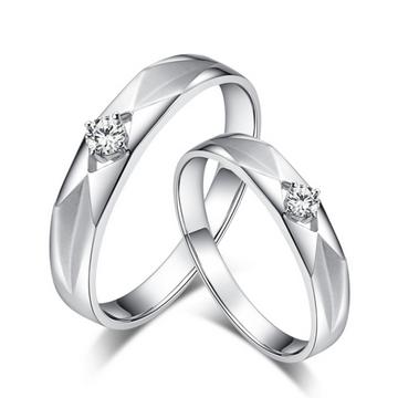 克拉达时尚钻石对戒