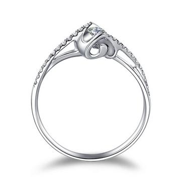克拉达时尚钻石女戒