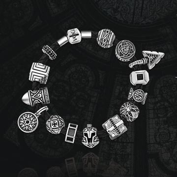 铧碧珠宝时尚个性英伦手串