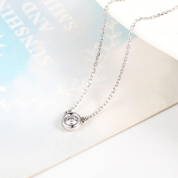 小钻王简约时尚钻石项链