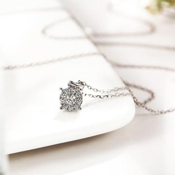 小钻王时尚钻石项链