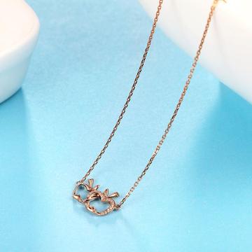 小钻王小苹果钻石项链