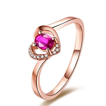 万国彩宝苏黎世风情红宝石戒指