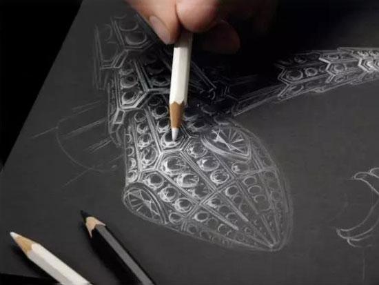 手绘设计图稿