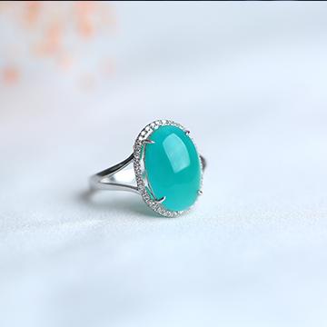 正瀚珠��彩��戒指