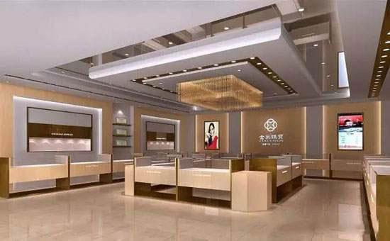 艺宸展具:珠宝柜台展示效果的设计与应用
