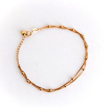 印纪珠宝K金手链