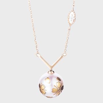 觅作莳绘珍珠·莳落·项链