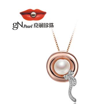 京润珍珠时尚珍珠吊坠