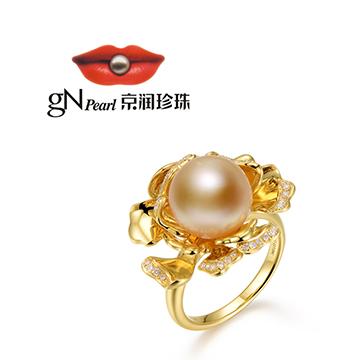 京润珍珠珍珠戒指