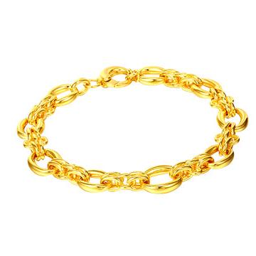 黄金码头艺术款手链