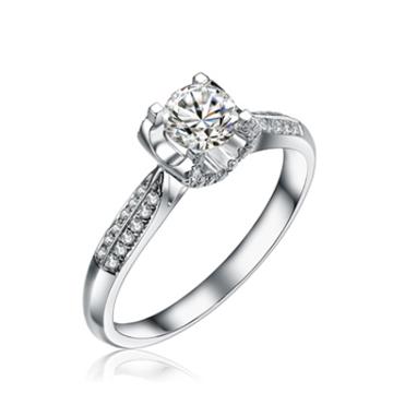 美億珠宝心心相印戒指