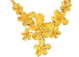 黄金项链怎样进行成色识别与保养?