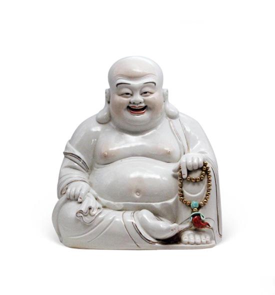 弥勒佛陶瓷像