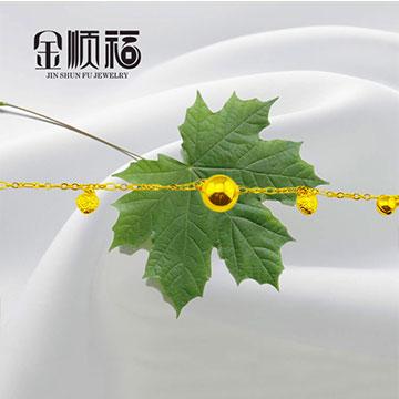 金顺福珠宝脚链