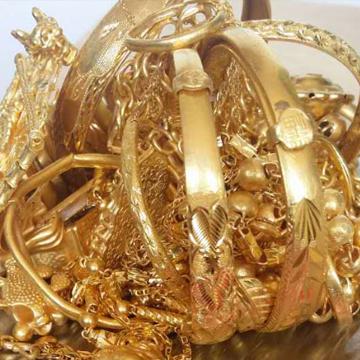赛福金珠宝回收黄金手镯展示
