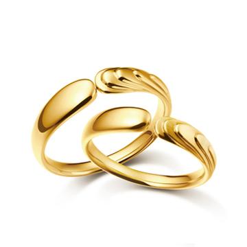 今生有约珠宝黄金对戒