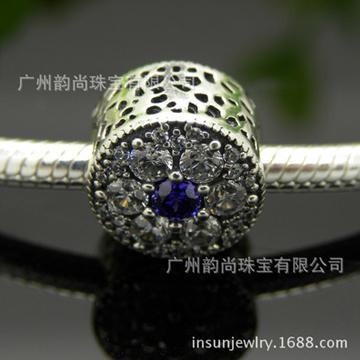 韵尚珠宝S925纯银复古手链串珠