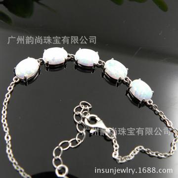 韵尚珠宝欧宝银饰手链