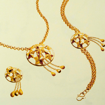 恒发珠宝精美黄金饰品