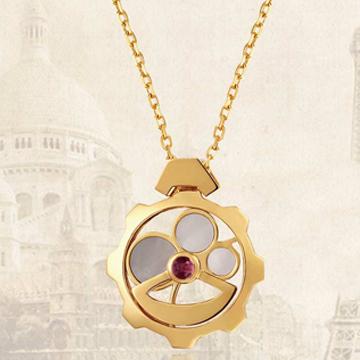 古丽兰珠宝私人订制黄金吊坠