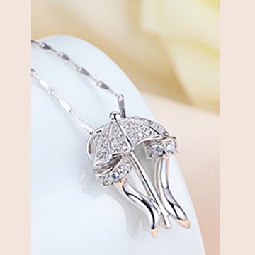 名兴首饰精美银饰项链