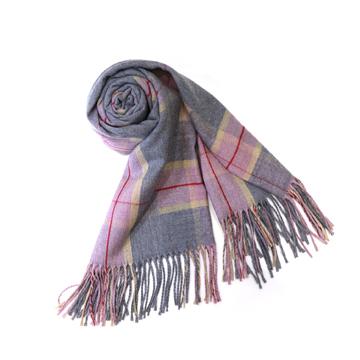 iciel巴黎天空双格围巾
