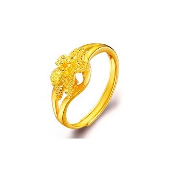 D-LOVE黄金时尚戒指