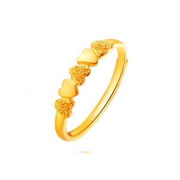 D-LOVE心形时尚戒指