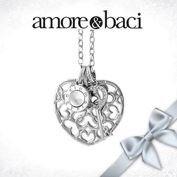 宝臣珠宝Amore-&-Baci时尚镂空心形
