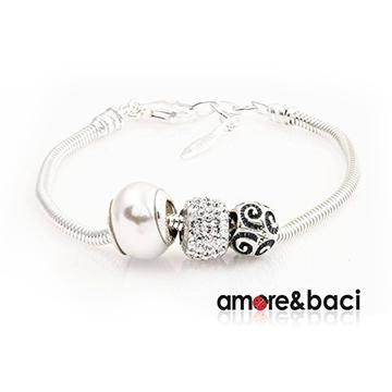 宝臣珠宝Amore-&-Baci时尚珠子手链