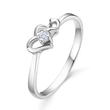 奢品女王珠宝白金18K金一克拉钻石
