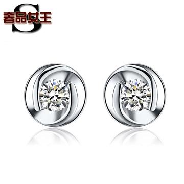 奢品女王珠宝钻石耳钉