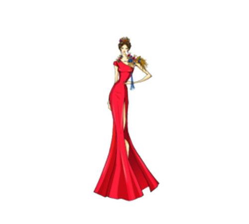 中国民族服装设计大赛嫁衣决赛