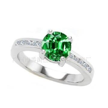 恒仕集团精美奢华宝石戒指